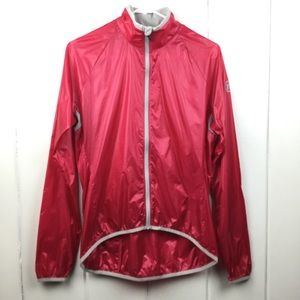 *NWOT* Novara Pink Biking/Velo Zip Windbreaker S